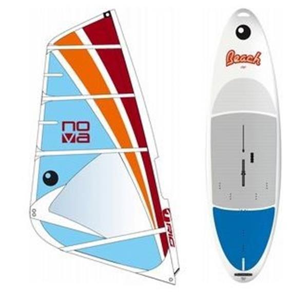 Bic Beach Windsurf Board 175D W / Bic Nova Windsurf Rig 6 0M U.S.A. & Canada