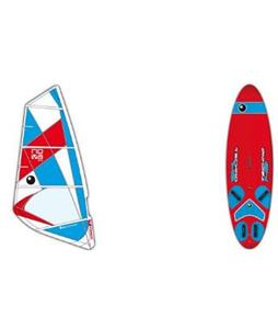 Bic Techno 148 Windsurf Board w/ Nova Rig