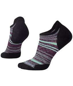 Smartwool PhD Run Light Elite Striped Micro Socks
