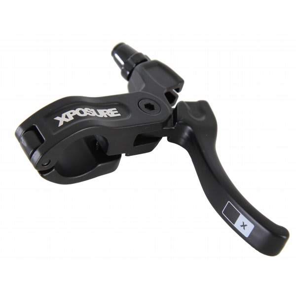 Xposure High Bike Brake Lever Right Side Black U.S.A. & Canada