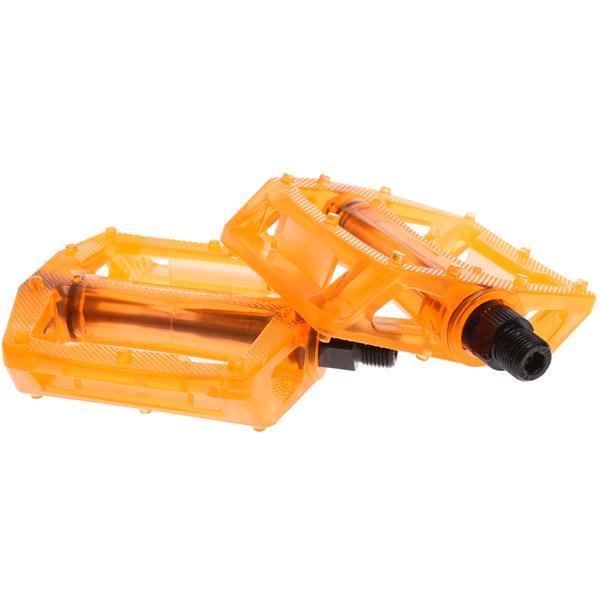 """Xposure Stomp Bike Pedals 9 / 16"""" Orange U.S.A. & Canada"""