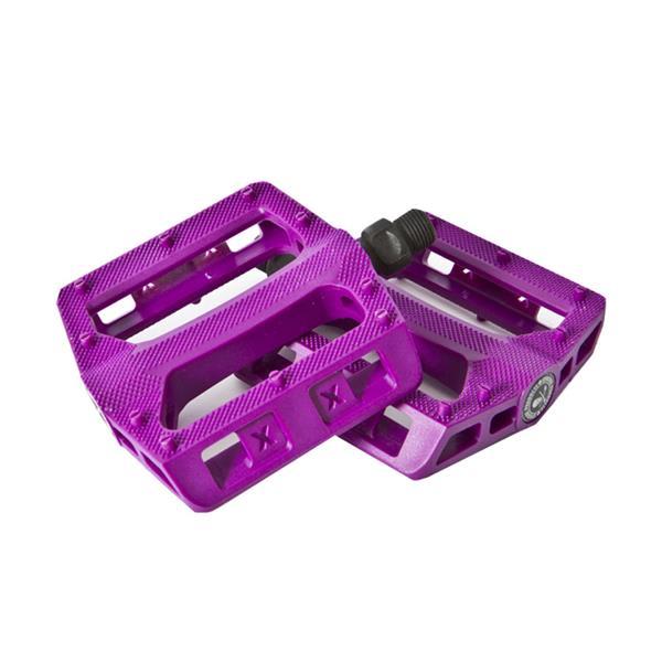 """Xposure Stomp Pedals Purple 9 / 16"""" U.S.A. & Canada"""