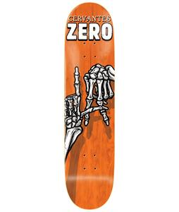 Zero Skelton Hands Cervantes Skateboard Deck