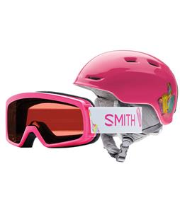 Smith Zoom Jr. Snow Helmet w/ Gambler Goggles